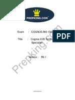 Prepking BI0-150 Exam Questions