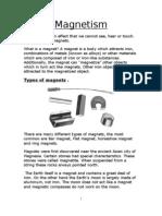 Form5 Unit1 Magnetism Notes