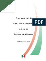 Plan Nacional Influenza-Mexico 2006