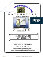 Perangkat Matematika Kls IX