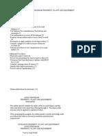 Audit Program Property