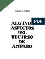 Algunos Aspectos Del Recurso de Amparo - Genaro r. Carrio