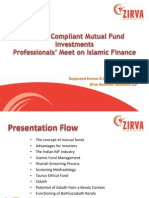 Mutual Funds & Zakath - Professionals' Meet on Islamic Finance - 16-07-2011