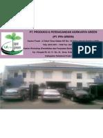 COMPANY PROFILE PT. PPA GREEN