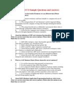 100 Question SAP FI + Answers