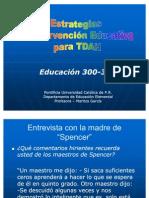 Estrategias de Intervención Educativa para TDAH,300-340