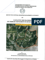 Report of Geological Survey of Pakistan in Pre Disaster Period of Hunza Attabad Landslide