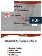 Marketing Presentation Ccd vs Barista