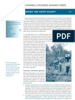 Dfid Sustainable Livelihoods Guidance Sheets - Approaches in Practice - Drought and Water Security