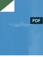 2008 Phil Energy Summit