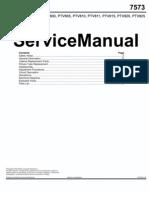 PTV810 Service Manual