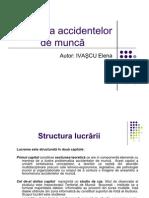 Dinamica Accidentelor de Munca-2010