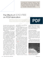Effects of LEAD-FREE on PCB Fabrication