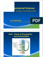 Kinds of Ecosystem and Communities