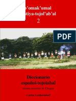 Carlos Lenkersdorf - Diccionario español-tojolabal