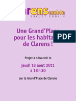 Clarensemble-flier Grand'Place