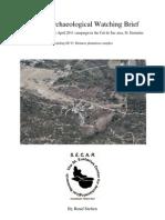 Stelten Ruud 2011 NuStar Archaeological Watching Brief