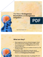 13916184 AQA ALevel Psychology PYA4 Endogenous Pacemakers and Exogenous Zeitgebers