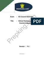 Prepking EC0-350V4 Exam Questions