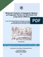 Molecular Analysis of Angiogenic Markers