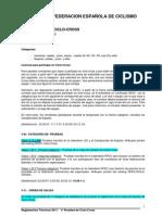Reglamento Ciclocross RFEC 10062011