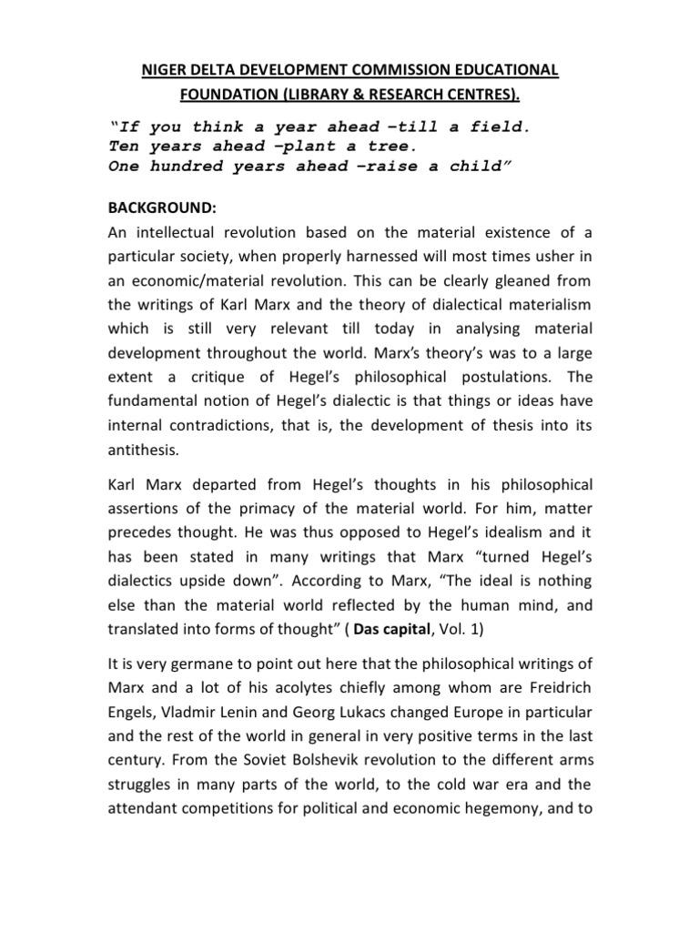 karl marx research paper
