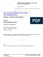 ISO105-E01-Color Fastness to Water