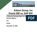 2008 Samples OracleDBIVsSAPBW