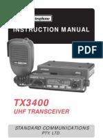 GME TX3400 User Manual