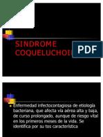 SINDROME COQUELUCHOIDE