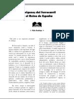 Los orígenes del ferrocarril en el Reino de España
