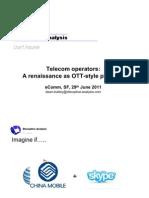 Disruptive Analysis - Telco-OTT