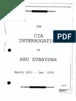 CIA Interrogation of AZ Released 04-15-10
