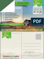 Einladung zum 3. Familienfest im Apfelhof Lutzmannsburg