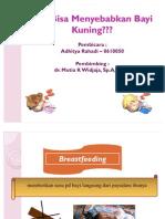 ASI Bisa Menyebabkan Bayi Kuning