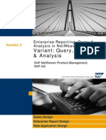 SAP NetWeaver 7.0 Business Intelligence%3a Query Reporting and Analysis