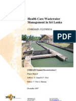 PR Sri Lanka Hosp_wastewater