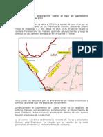 Informe de Cerro Lindo
