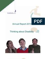 EASPD Annual Report 2010