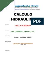 Memoria Hidraulica Villa Roberto Mod.
