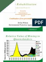 Mine Rehabilitation CQMiningForum_Michael-Rodgerson