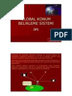 GPS (Global Konum Belirleme Sistemi)