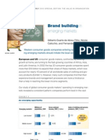 Brand Building in Emerging Markets