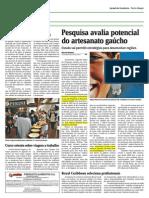 Artesanato e Redeiras - Jornal Comércio - 18 de julho 2011