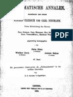 Zeuthen, Die Geometrische Konstruktion als Existenzbeweis