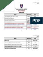 Kalendar Akademik Kump B Sep 2011-Jan 2012