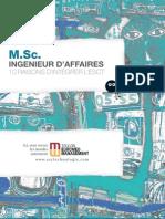 M.Sc. Ingénieurs d'Affaires ESCT