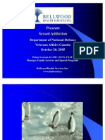 Sexual Addiction - Military - October 20 2005