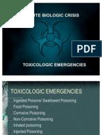 1 - ToXICOLOGIC Emergencies