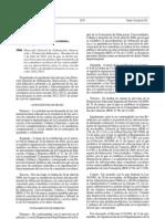 GESTIÓN Y FUNCIONAMIENTO DE COMEDORES ESCOLARES - CURSO 2011 - 2012